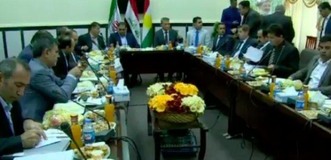 Kürdistan ve İran heyetleri sınırda buluştu!