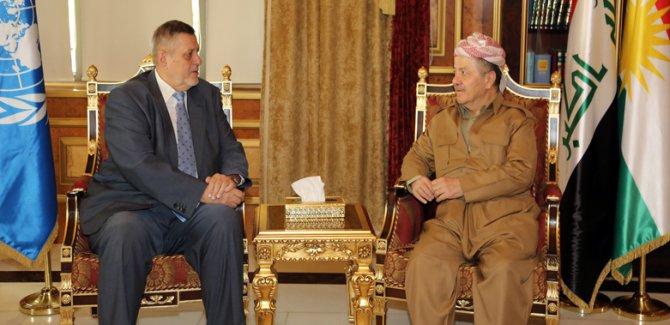 BM'den Başkan Barzani'ye kutlama