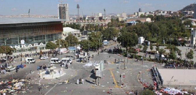 Ankara'da tren garı saldırısı anma töreni