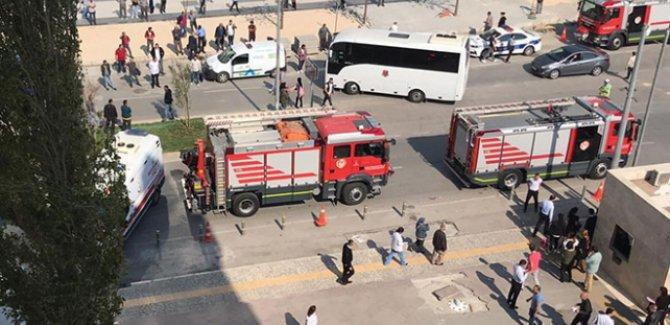 İzmir Adliyesinde gaz zehirlenmesi