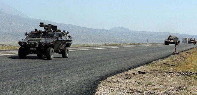 Şırnak'ta zırhlı araç devrildi: 12 asker yaralı