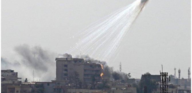 Sûryê: Hevpeymanan çekên qedexekirî bikar anîne