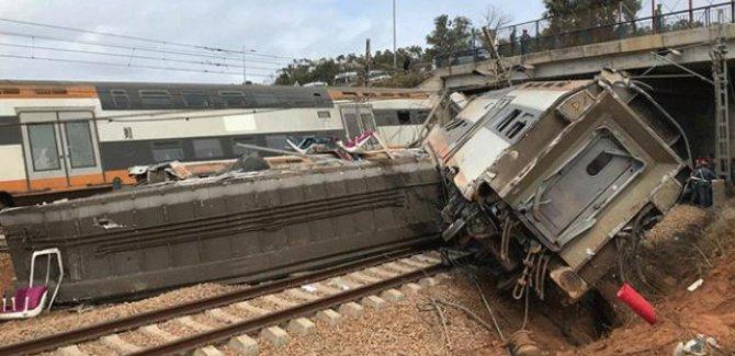Fas'ta tren kazası: En az 6 ölü