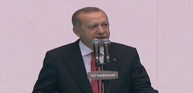 Erdoğan Diyarbakır'da