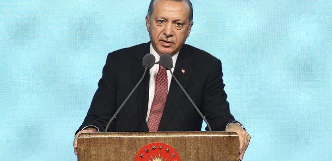 Erdoğan: Yeni bir dönemin arafesindeyiz