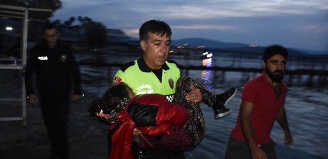Bodrum'da göçmen teknesi battı: 2 çocuk yaşamını yitirdi