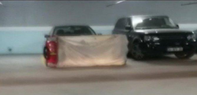 Suudi Konsolosluğuna ait araç terk edilmiş halde bulundu