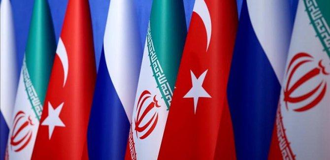 Türkiye, Rusya ve İran'dan Suriye ile ilgili yeni anlaşma