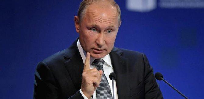 Putin'den yeni bir silahlanma yarışına karşı uyarı