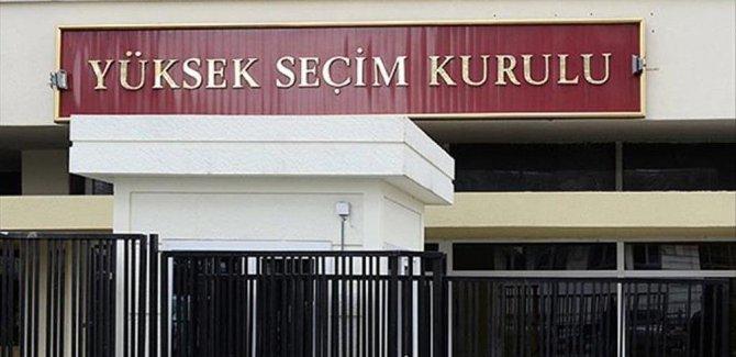 YSK'nın yerel seçimlere ilişkin kararı Resmi Gazete'de yayınlandı