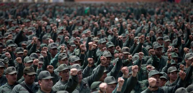 Venezüela Ordusuna Saldırı