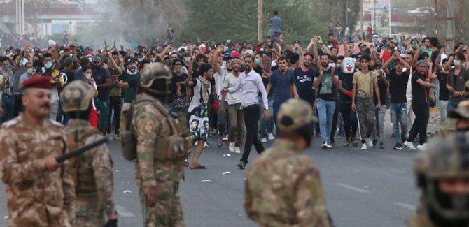 Basralılar yeniden sokaklarda