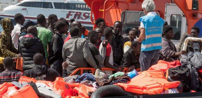 BM: 2018'de Akdeniz'de 2 binden fazla sığınmacı öldü