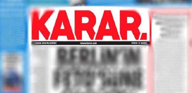 Karar: Gazetemize baskılar tahammül edilemez noktaya geldi
