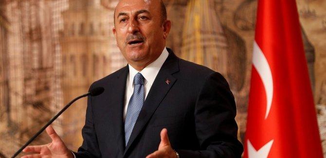 Çavuşoğlu: Fransa Dışişleri Bakanı haddini aşmıştır...