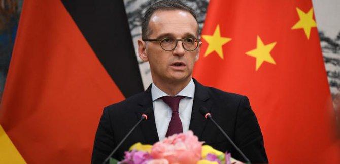 """Alman Dışişleri Bakanı: Çin'deki """"Uygur eğitim kampları"""" kabul edilemez"""