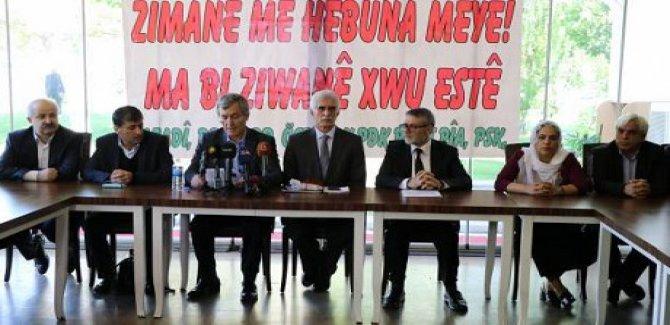 Kürt Dil Platformu: Bu hak Kuran-i Kerim'de geçiyor