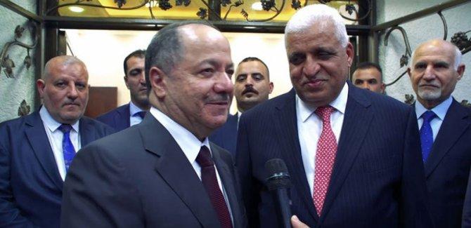 Başkan Barzani: Sorunların çözümü için Bağdat'tayım