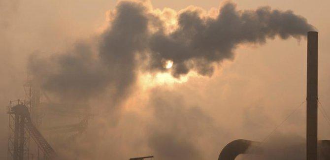 Atmosferde sera gazı yoğunluğu rekor seviyede
