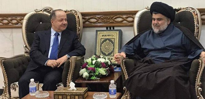 Barzani ve Sadr Birarada
