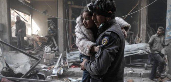 BM: Suriye'de savaş kurbanı olan çocuklar artıyor