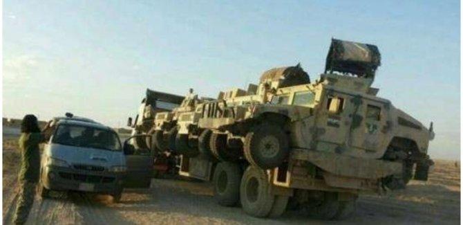 ABD'den YPG'ye 150 tırlık yeni askeri sevkiyat