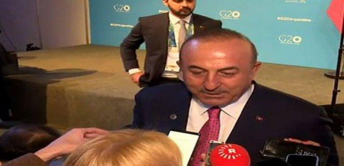 Çavuşoğlu: YPG'yi Münbiç'ten çıkaracağız