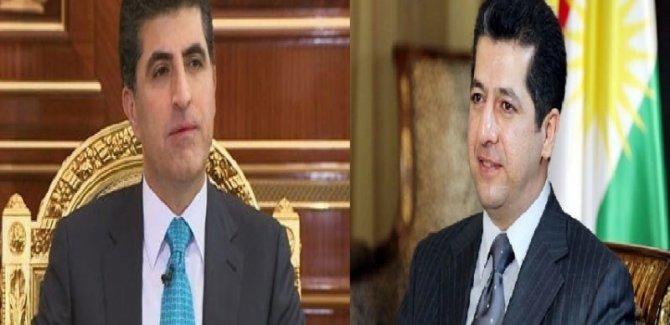 Başkan adayı Neçirvan Barzani, başbakan adayı da Mesrur Barzani oldu