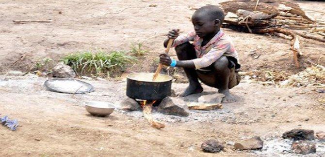 Nijerya'da 35 milyon çocuk açlık tehdidi altında