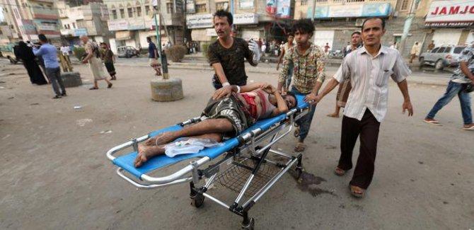 Yemen'deki savaşta her haftada en az 123 ölü ve yaralı