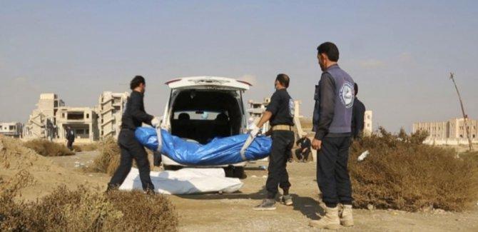 Rakka'da yeni bir toplu mezar bulundu