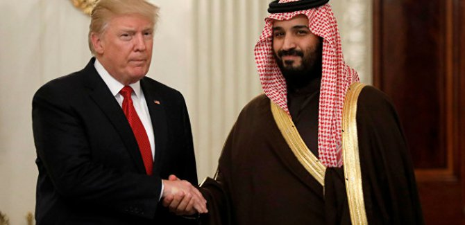 Trump'tan Prens Selman'a destek açıklaması