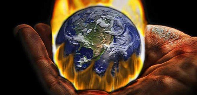 Dünya 3.3 santigrat derecelik sıcaklık artışına sürükleniyor