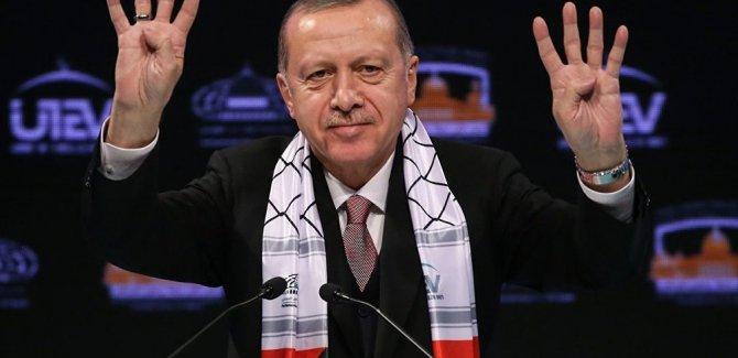 Erdoğan: Kudüs'teki İslam mirasının izlerini silemeyeceksiniz
