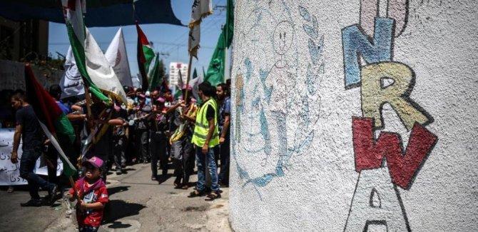 UNRWA tarihindeki en büyük krizle yüz yüze