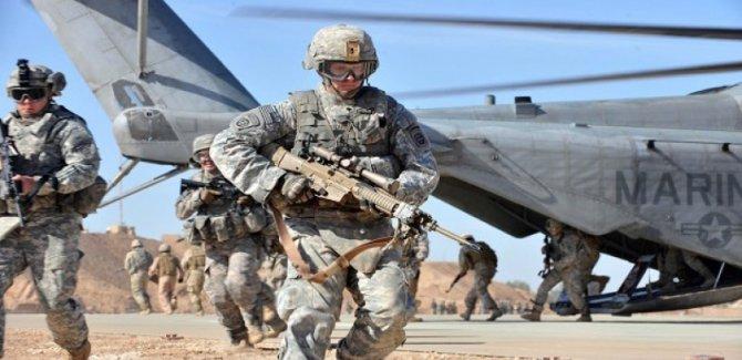 ABD Irak'ın Suriye sınırına yeni bir üs kurdu