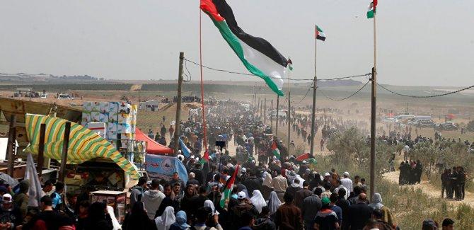 Gazze Sınırındaki Saldırıda 3 Filistinli Şehid Oldu