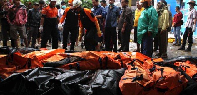 Endonezya'da can kayıpları 281'e çıktı