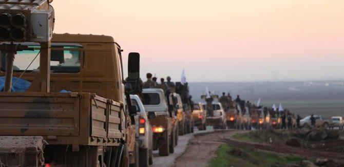 ÖSO birlikleri Minbic'e sevk ediliyor