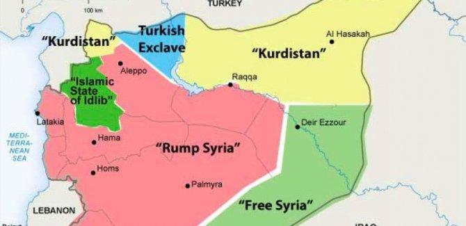 Suriye: Bizim 'Kürt sorunu' diye bir sorunumuz yok