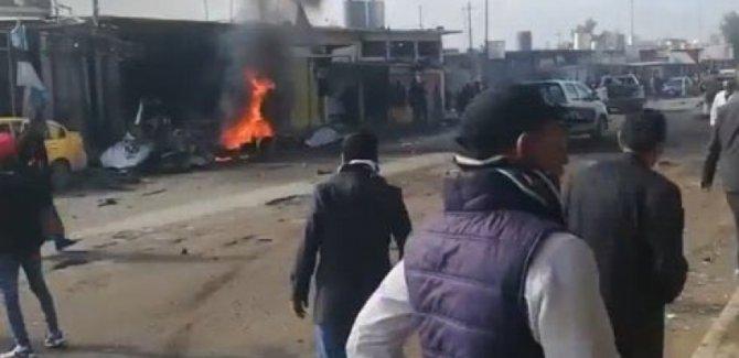 Telafer'de bombalı saldırı: 3 ölü, 12 yaralı