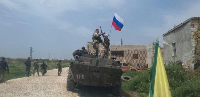 Rusya Minbic'de gözlem noktası kurdu