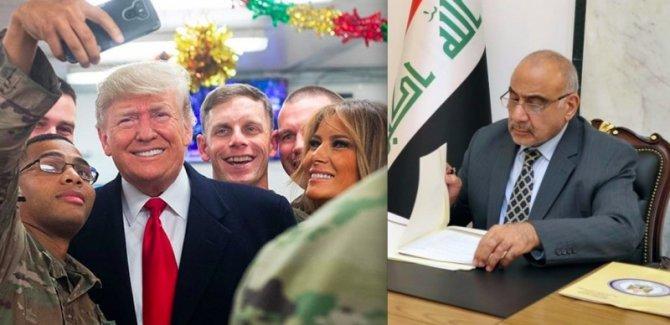 Irak Başbakanı'ndan Trump'ın ziyaretine ilişkin açıklama