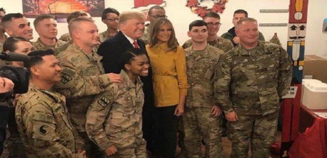 İran'dan Trump'ın Irak ziyaretine tepki