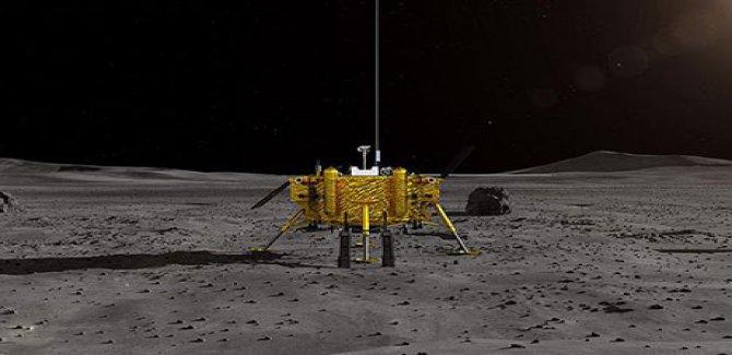 Çin'in insansız keşif aracı Ay'a indi