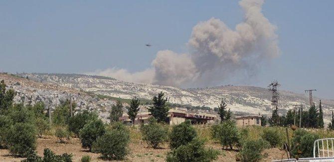 İdlib'e hava saldırısı