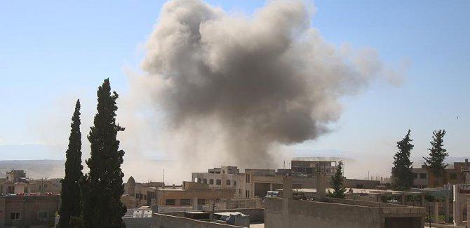 Suriye'de hava saldırısı: 3 ölü, 9 yaralı