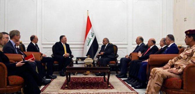 ABD Dışişleri Bakanı Pompeo'dan Irak'a  ziyaret