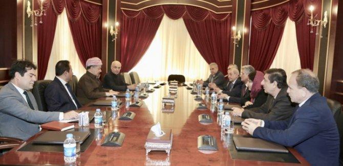 ENKS'den Başkan Barzani'ye: Kürt halkının sesini duyurun