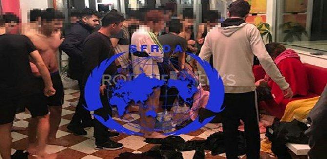 Kürt göçmenleri taşıyan tekne alabora oldu